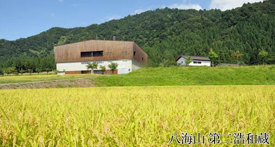 八海山 田んぼの風景